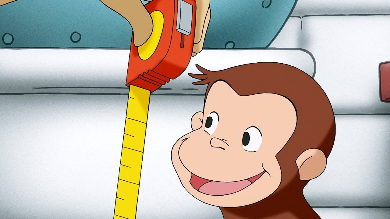 Curious George | George Measures Up / Under the Sun | Full Episode | Cartoons for Children