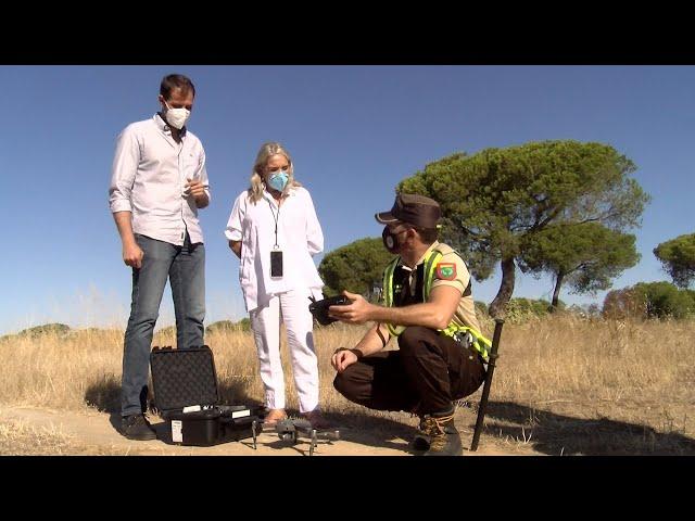 Cartaya Tv | El Ayuntamiento de Cartaya vigila el campo público con drones