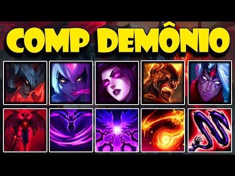 *COMP FULL DEMÔNIO* ESSA COMP NÃO VAI PRO CÉU (AATROX TOP) League of Legends