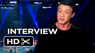 Grudge Match Interview - Sylvester Stallone (2013) - Kevin Hart Boxing Movie HD