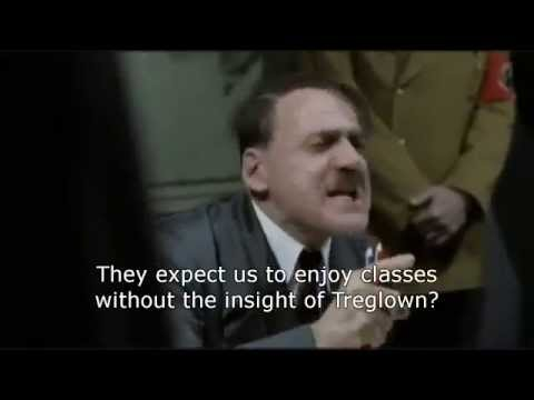 Hitler reacts to BWS teachers leaving
