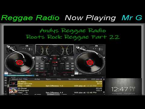 Andys Reggae Radio - Roots Rock Reggae Part 22