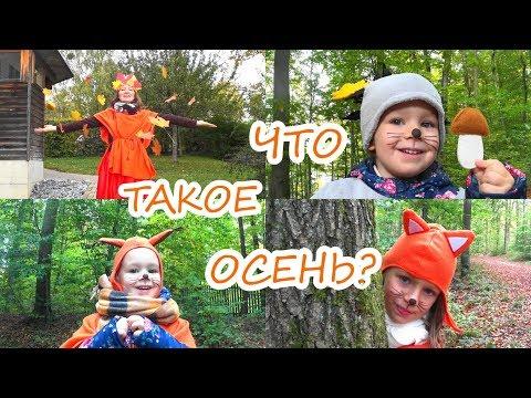 Живые стихи. Что такое осень? Стихи для детей