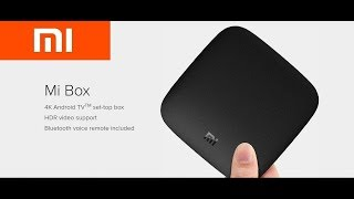 Mi Android TV BOX-4GB RAM 🔥 16GB ROM-Black 2018!!!