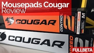 review completo de los mousepad Cougar Control, Speed y Blade