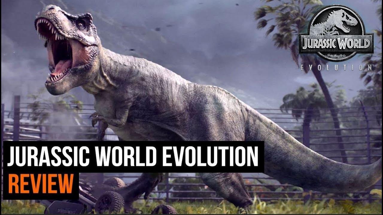 jurassic world evolution review youtube
