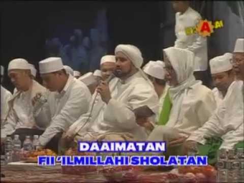 PADANG BULAN (Kediri Bersholawat bersama Habib Syekh Bin Abdul Qodir Assegaf dan Wali Kota Kediri)