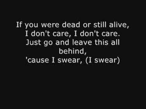 I don't care by Apocalyptica with lyrics - YouTube