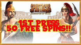 50 Free Spins on FIRST GAME!!