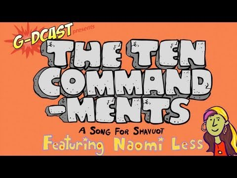 The Ten Commandments  A Shavuot Song for Kids