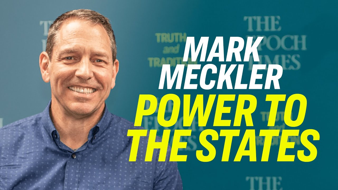 How to Curb Federal Government Overreach With A Convention of States—Mark Meckler Explains [TPUSA] -