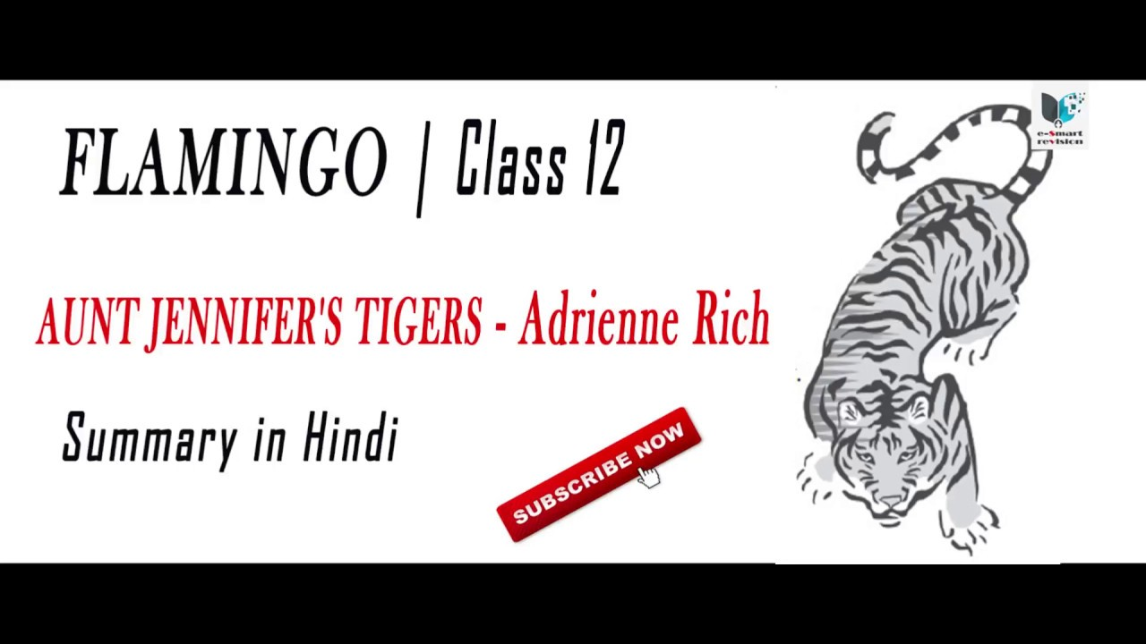 explication of adrienne richs aunt jennifers tigers essay In this essay, rich argues popular poems by adrienne rich diving into the wreck aunt jennifer's tigers living in sin snapshots of a biography of adrienne rich.
