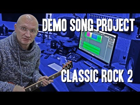Demo Song Project - Classic Rock 2 (Making of) with Synergy Metro Plex
