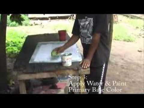 Batik Workshop from Filex in Tanzania