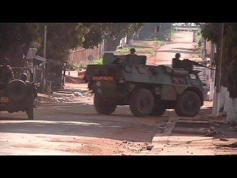 Começa operação militar francesa na República Centro-Africana