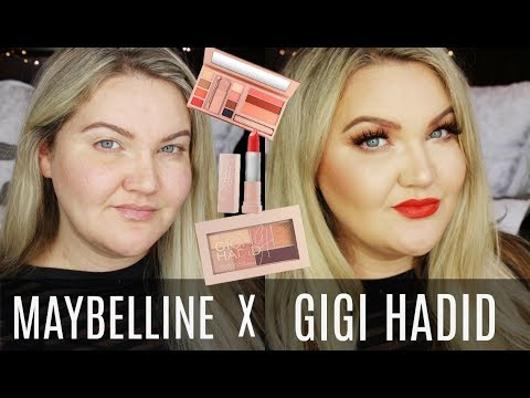 MAYBELLINE X GIGI HADID DRUGSTORE COLLECTION | HONEST REVIEW