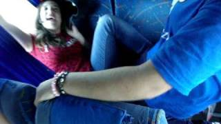 sexo en el bus 1