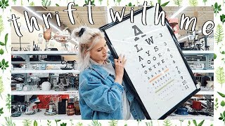 Come Thrift With Me | CHEAP Home Decor + Jeans Thrift Haul
