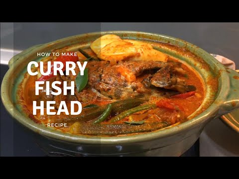 Indian Curry Fish Head | Asian Food Recipe | Kelly Home Chef