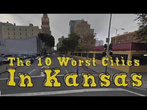 The 10 Worst Cities In Kansas Explained