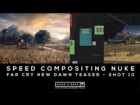 Speed Compositing in Foundry Nuke - Far Cry New Dawn Teaser thumbnail