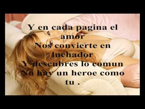 Enrique iglesias heroe lyrics spanish