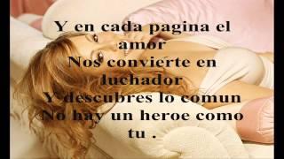 MARIAH CAREY 'Heroe' En Español CON LETRA