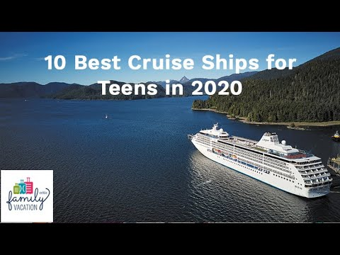 10 Best Cruise Ships For Teens In 2020
