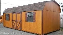 12' x 24' High Barn Storage Shed