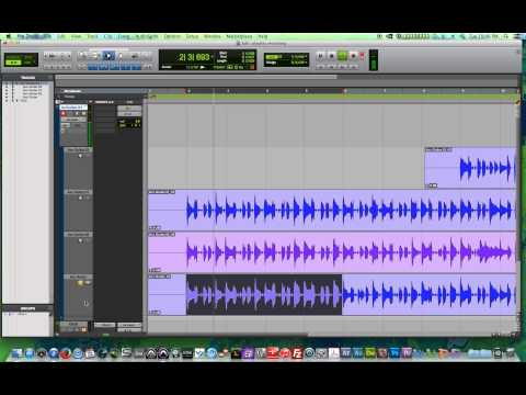 Pro Tools 11 – #15 – Comping Takes, Playlist Recording and Editing