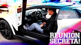 REUNIÓN SECRETA DE AUTOS EXÓTICOS (LAMBORGHINI, R8, FERRARI) | JUCA