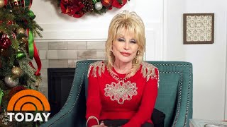 Dolly Parton Talks Holiday Projects And Answers Fan Questions | TODAY