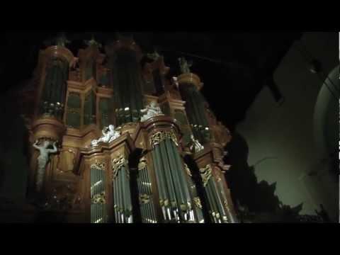 Jeruzalem/Isr. volkslied Martin Mans, orgel Groote kerk van Maassluis[Feike Asma]