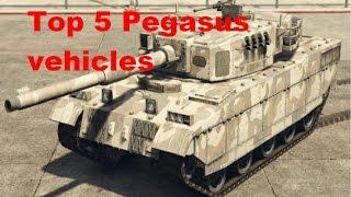 GTA V -Top 5 Pegasus vehicles
