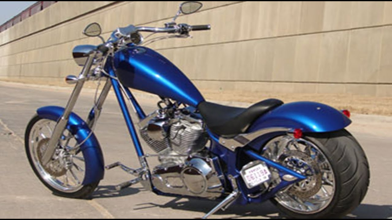 dog chopper motorcycles road low cost