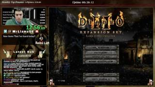 Diablo 2 - Hell Sorceress Speedrun - Getting back into it