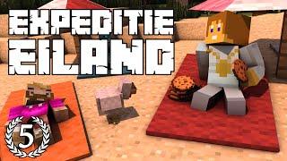 """Expeditie Eiland #5 - """"DIT GAAT NET GOED!"""" - Minecraft Reality"""