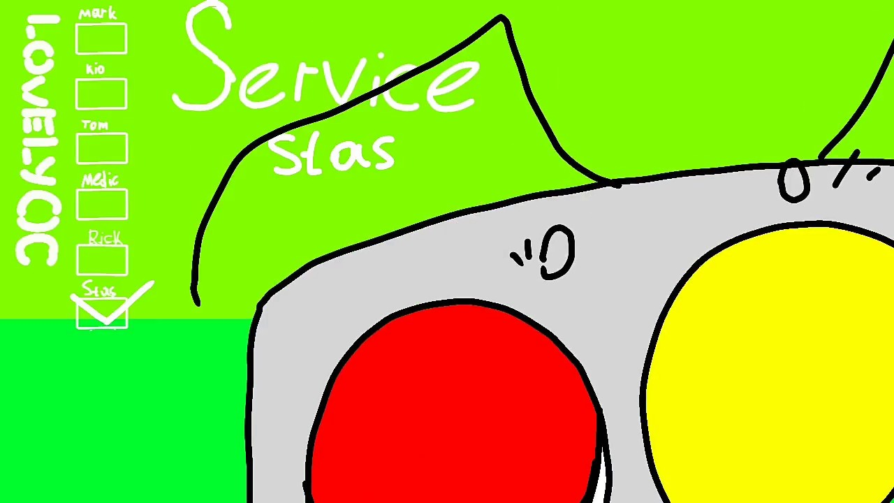 .smile! sweet! sister! sadistic! surprise! service ...
