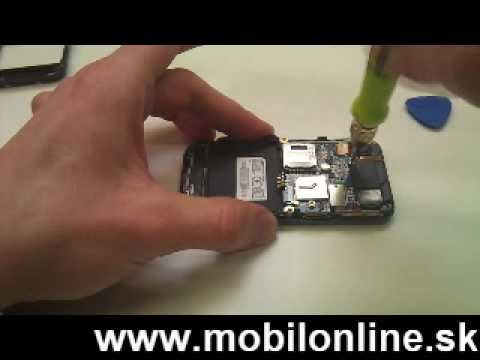Výmena: LCD displej, dotykove sklo Samsung S5230 , How to change Samsung S5230 display