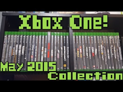 Xbox One Game Collection May 2015