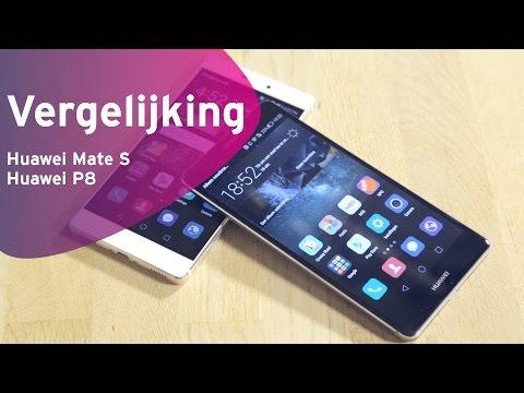 Huawei Mate S Vs Huawei P8 Review (Dutch)