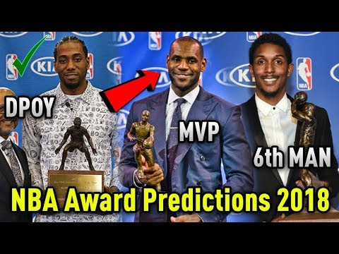 NBA Award Predictions 2017-2018! (Season Preview)