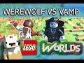 LEGO Worlds (Part 2) Werewolves Vs Vampires