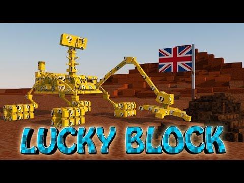 Minecraft   LUCKY BLOCK MARS BOSS CHALLENGE - 3 Headed Space Alien! (Alien Creeper)