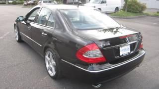 2009 mercedes benz e350 amg sport appearance package review d angelo auto sales portland oregon