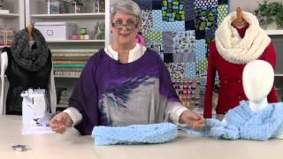 Sew & Quilt With Cuddle Fabric -- an Annie's Video Class