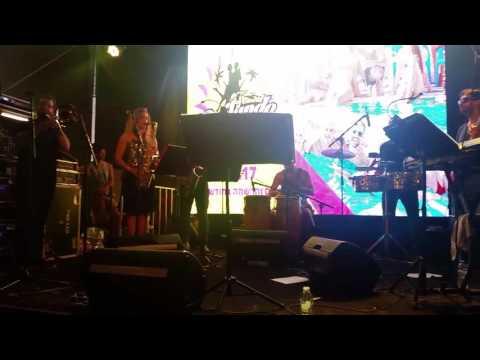 Latin melody in Tel Aviv port, Israel