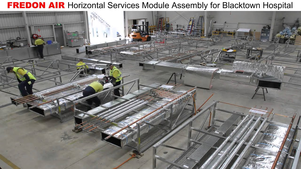 Fredon Air Horizontal Module Assembly For Blacktown