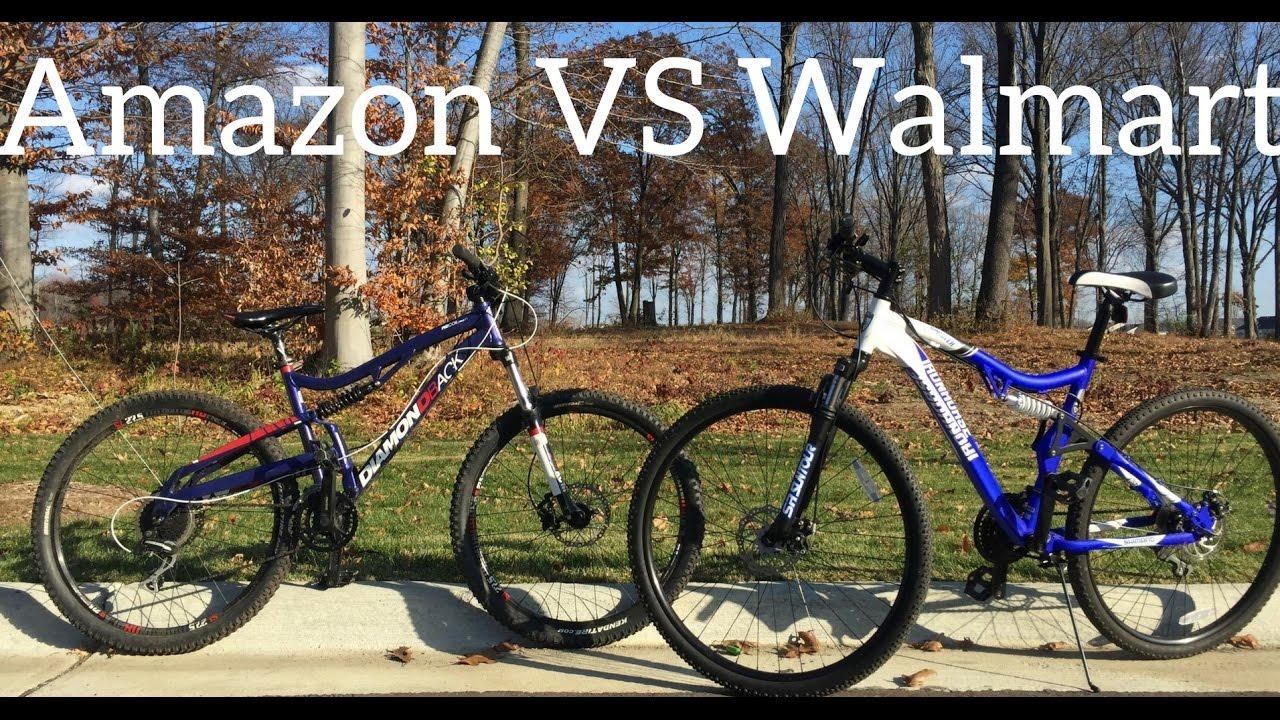 Walmart Mountain Bike VS Amazon Mountain Bike