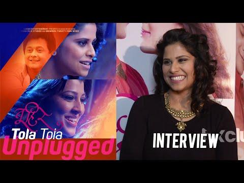 Sai Tamhankar On Her Debut As A Singer | Interview | Tola Tola Unplugged | Tu Hi Re | Marathi Movie